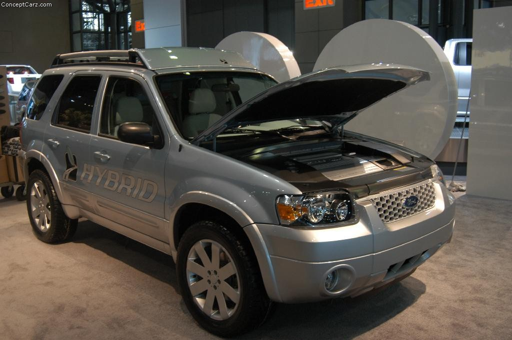 2004 Ford Escape Hybrid History Pictures Value Auction