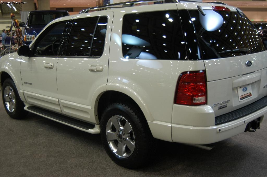 Auction Results And Sales Data For 2004 Ford Explorer Conceptcarz Com