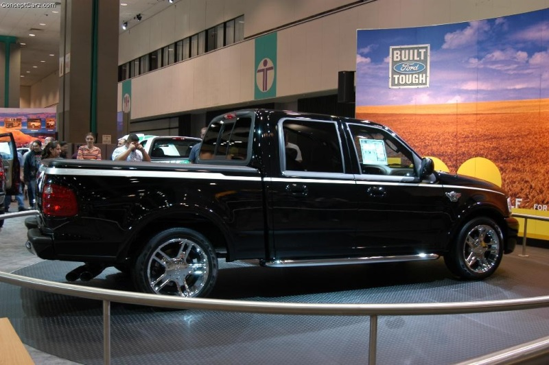 2003 Ford F150 Harley Davidson History Pictures Value Auction