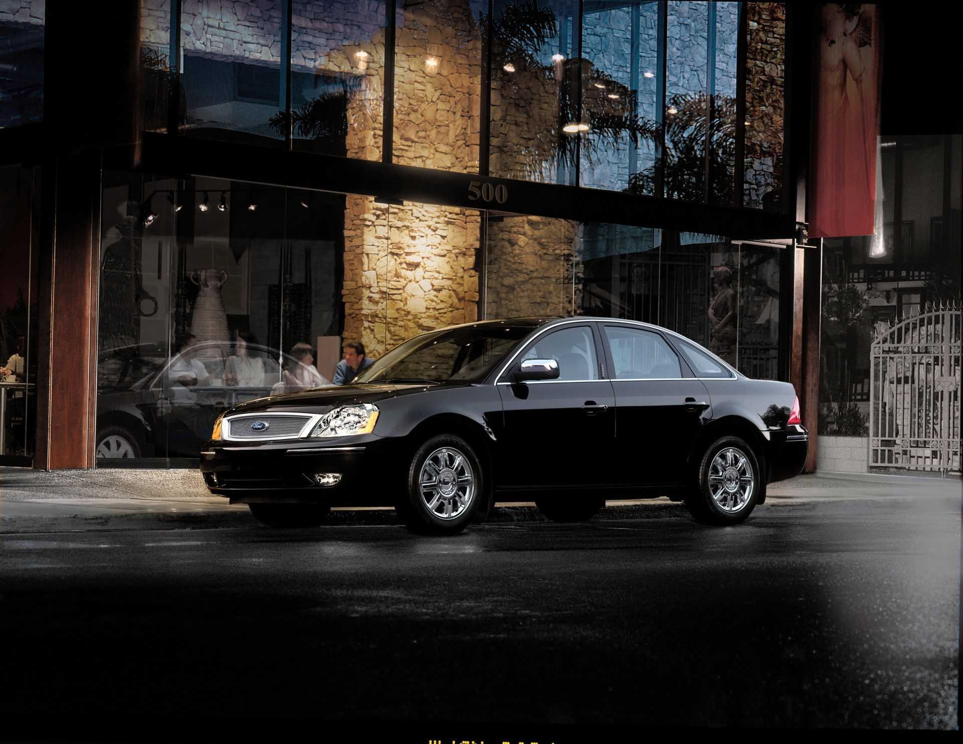 2007 ford five hundred history pictures sales value. Black Bedroom Furniture Sets. Home Design Ideas