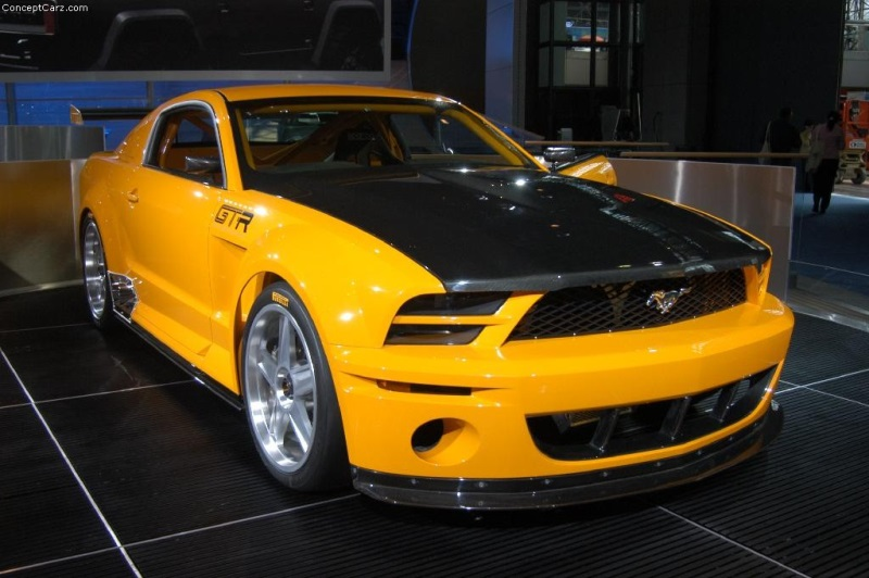 2005 Ford Mustang GT-R Image. Photo 8 of 16