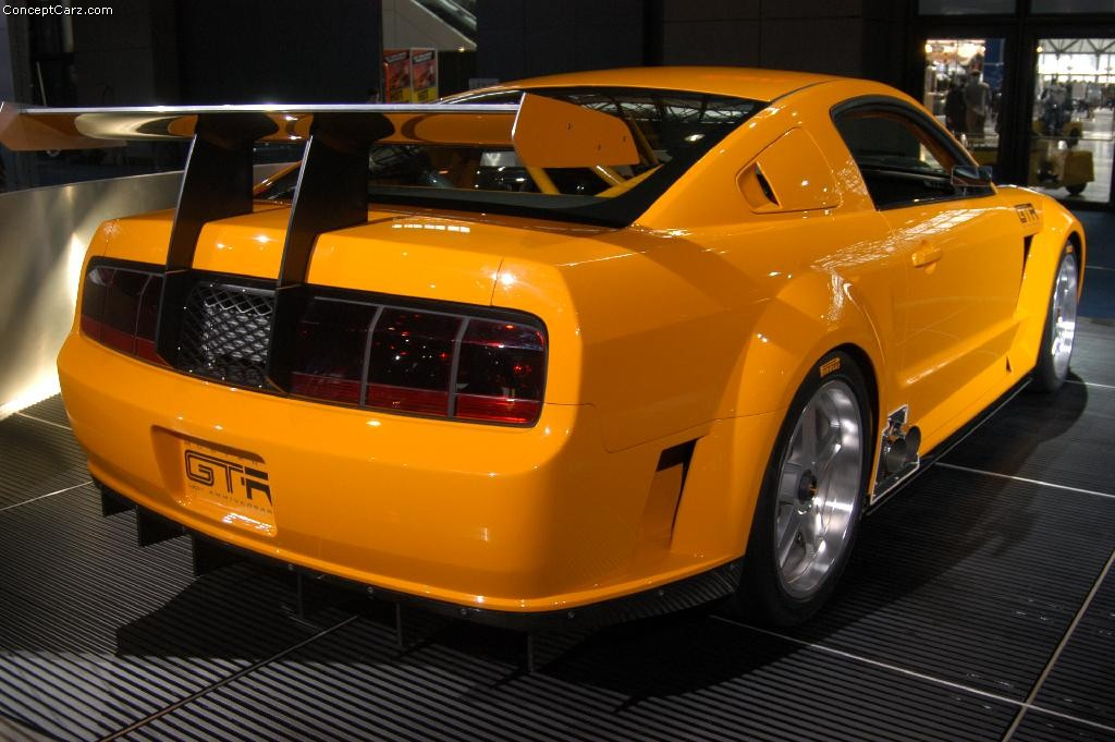 Ford Mustang Gtr Concept >> 2005 Ford Mustang GT-R Image. Photo 4 of 16