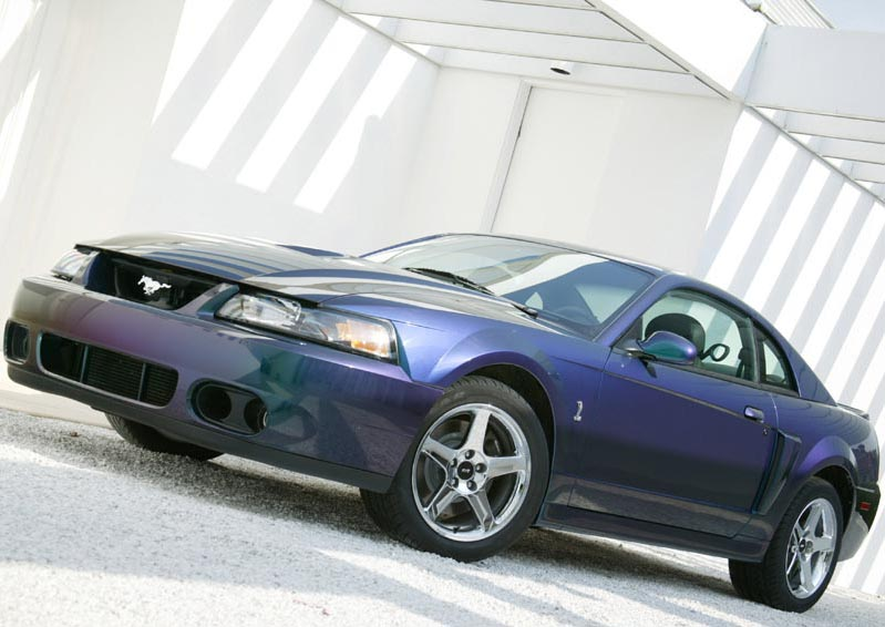 2003 Ford Mustang Cobra SVT Mystichrome History Pictures