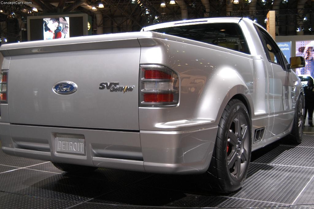 Ford Svt Lightning Concept Nyc Dv