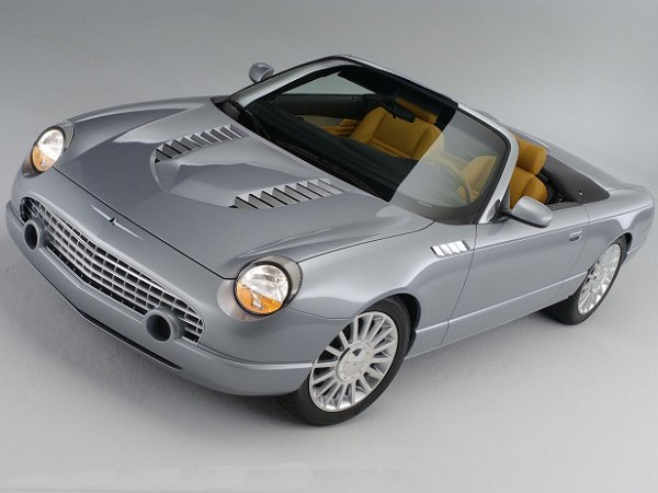 2003 Ford Thunderbird Supercharged Concept History