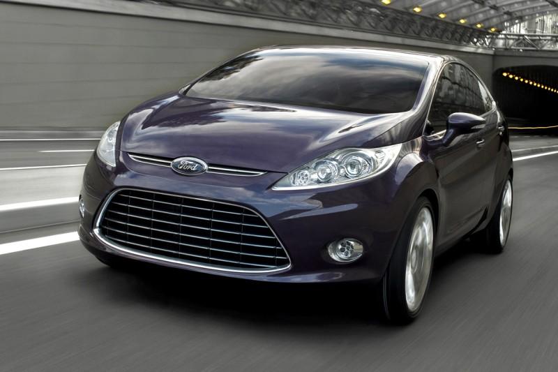 2007 Ford Verve Sedan Concept History Pictures Value Auction