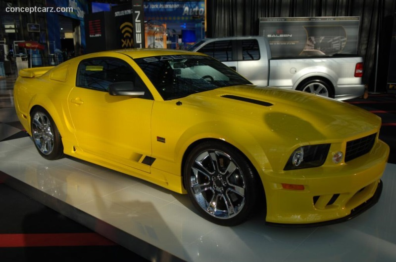 2006 Saleen Mustang S 281 Extreme History Pictures Value Auction