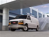 2015 GMC Savana Cargo Van image.