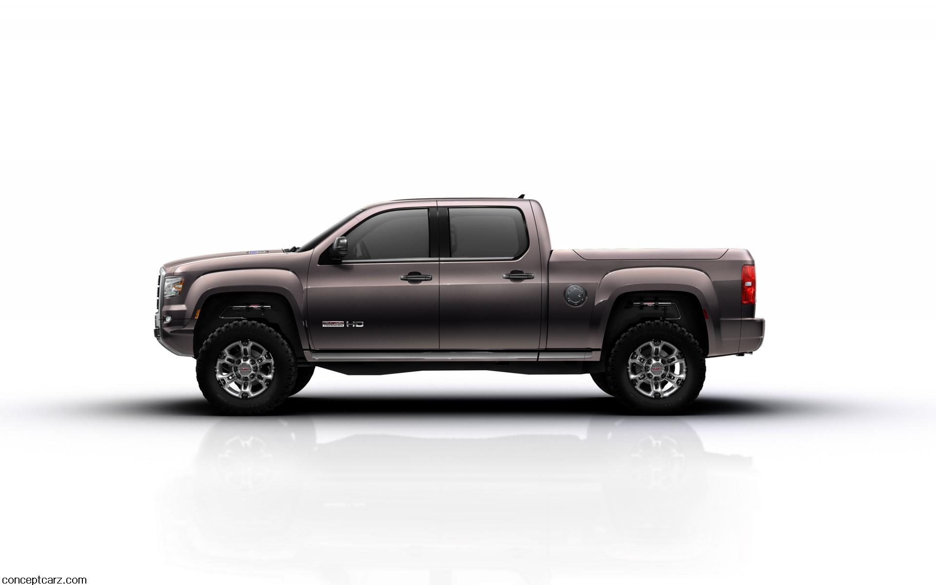 2011 Gmc Sierra All Terrain Hd Concept News And Information Gm Duramax Sel Engine Research Pricing
