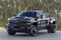 GMC Sierra 3500HD NHRA Safety Safari SEMA Concept
