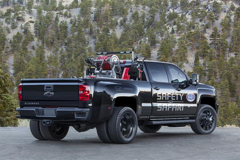 GMC Sierra 3500HD NHRA Safety Safari SEMA Concept pictures and wallpaper