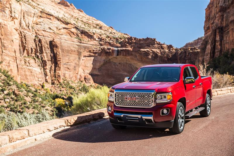 GMC Canyon pictures and wallpaper
