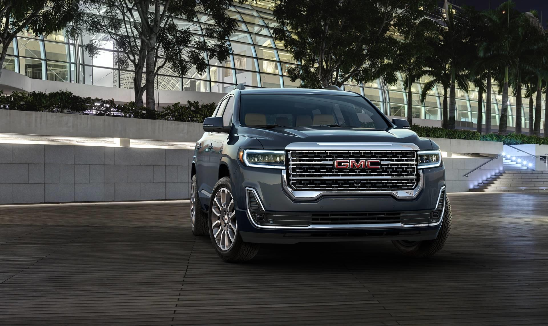 2020 Gmc Acadia Technical And Mechanical Specifications