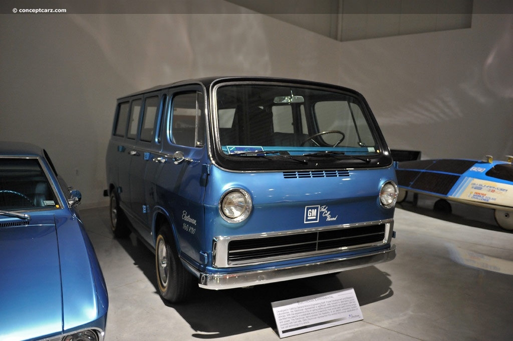 1966 GMC Electrovan Experimental History, Pictures, Value ...