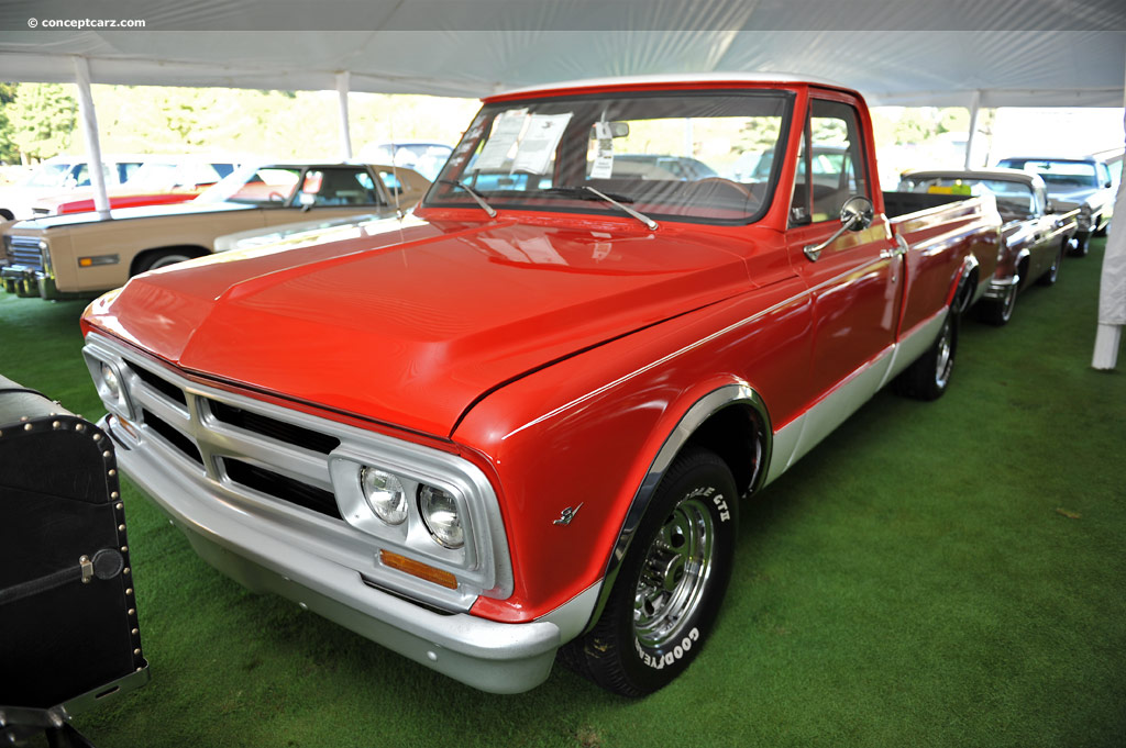 Auction Results and Sales Data for 1967 GMC 1500