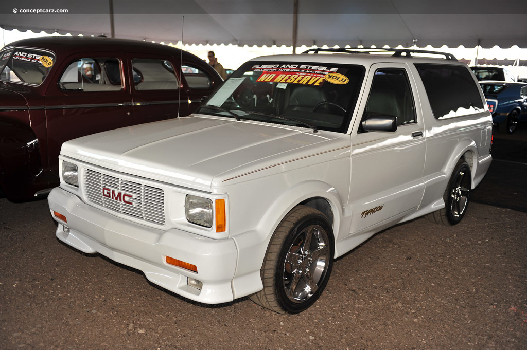 Auction Results And Sales Data For 1993 Gmc Typhoon