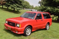 1993 GMC Typhoon.  Chassis number 1GDCT18Z4N0812398
