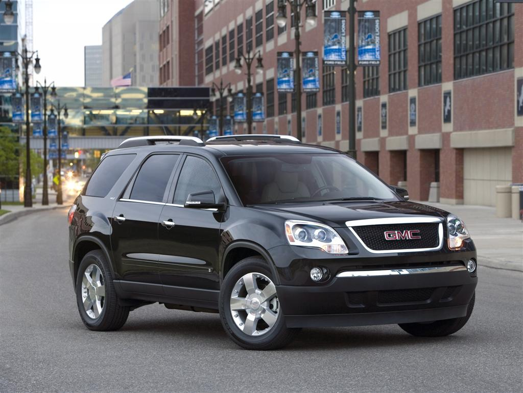 2009 gmc acadia news and information. Black Bedroom Furniture Sets. Home Design Ideas