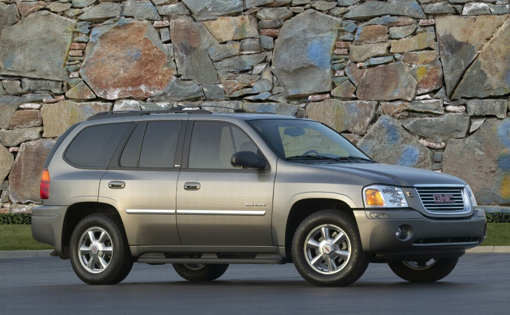 GMC Envoy on 2007 gmc acadia slt