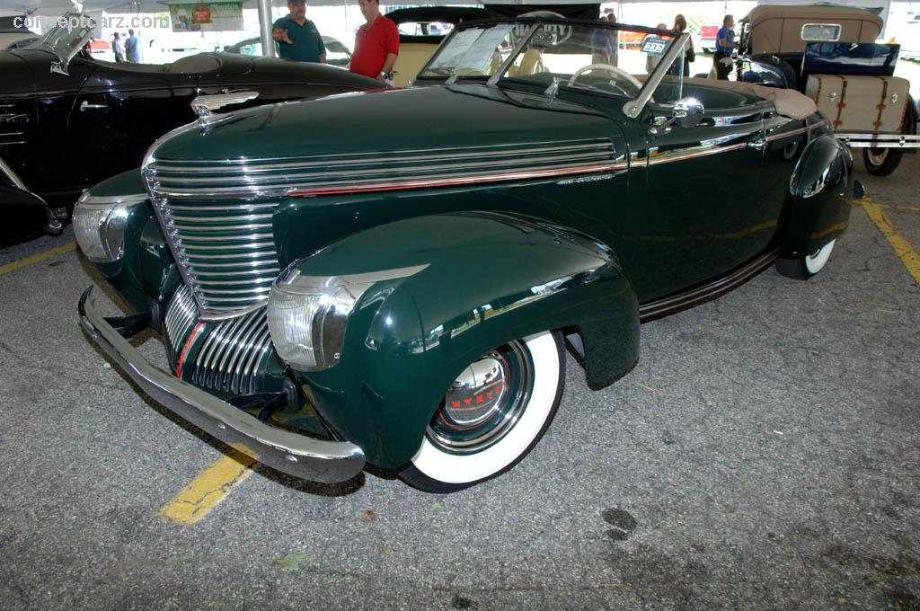 1939 Graham Model 97 Supercharged Image Chassis Number 505389
