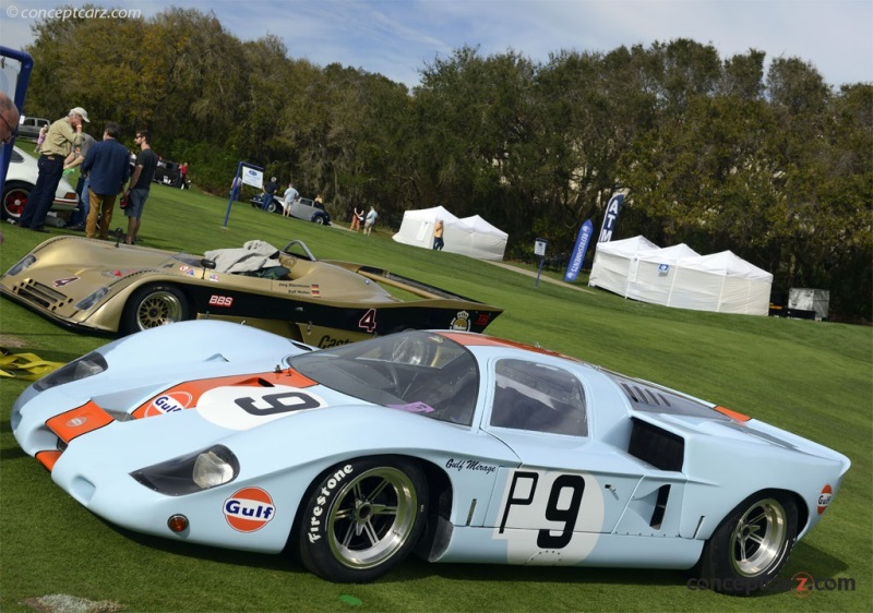 1968 Gulf Mirage M2 Image Chassis Number M2 300 02
