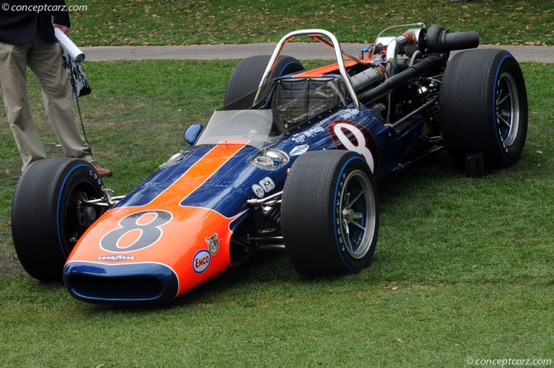 Chassis 40-1 1968 Gurney AAR Indy Eagle chassis information