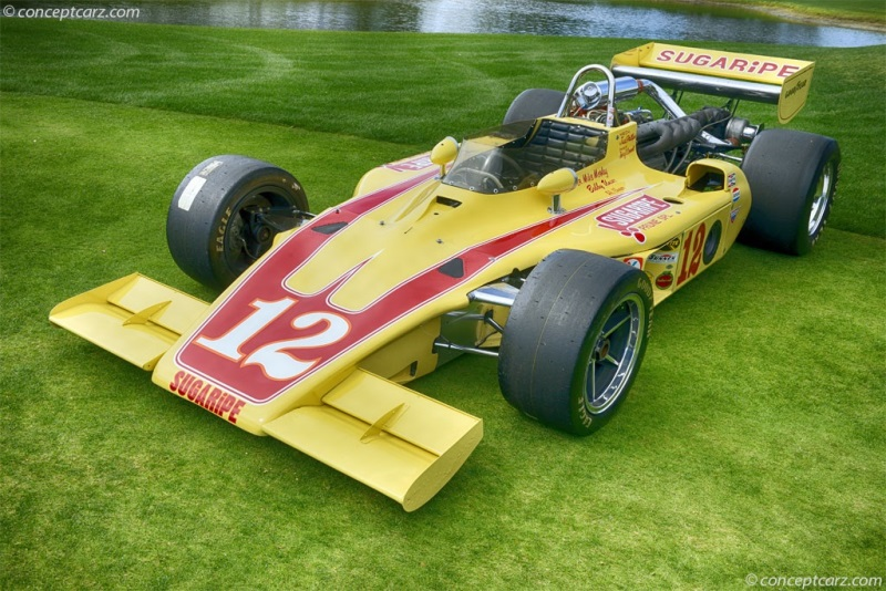 Chassis 74 08 1974 Gurney Aar Eagle Indy Chassis Information