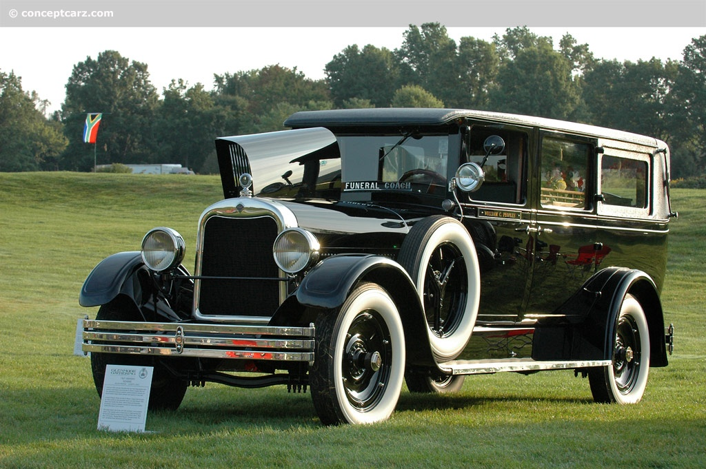 1927 Henney Hearse at the Glenmoor Gathering of ...