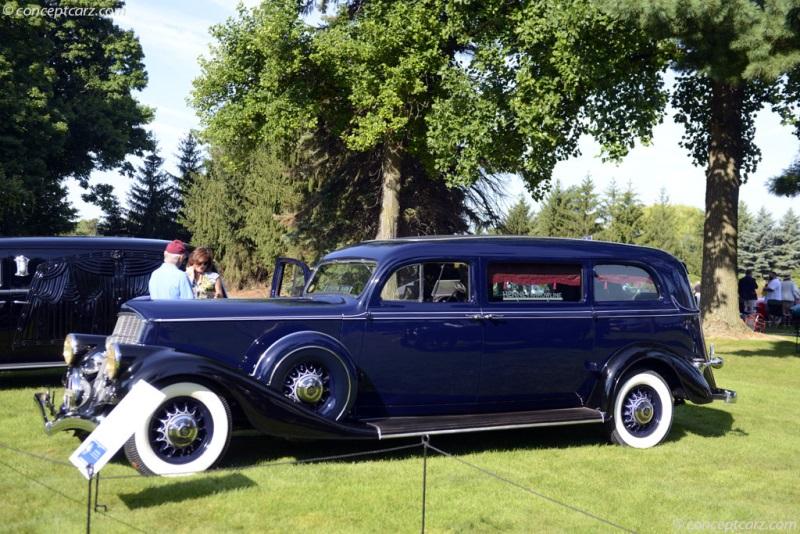 1934 Pierce-Arrow Arrowline 836A