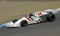 1975 Hesketh 308C.  Chassis number 308C-01 or 308C-02