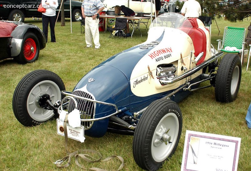 1956 Hillegass Sprint Car pictures and wallpaper