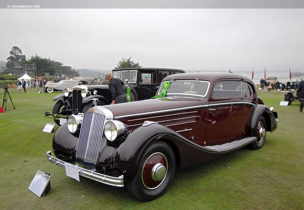 1937 Hispano Suiza K6 At The Pebble Beach Concours D Elegance