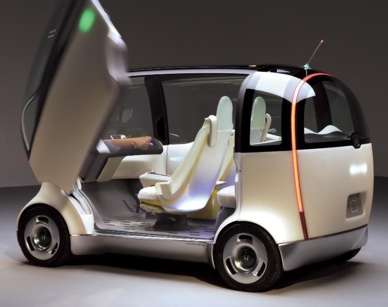 2007 Honda Puyo Concept Image Photo 10 Of 19