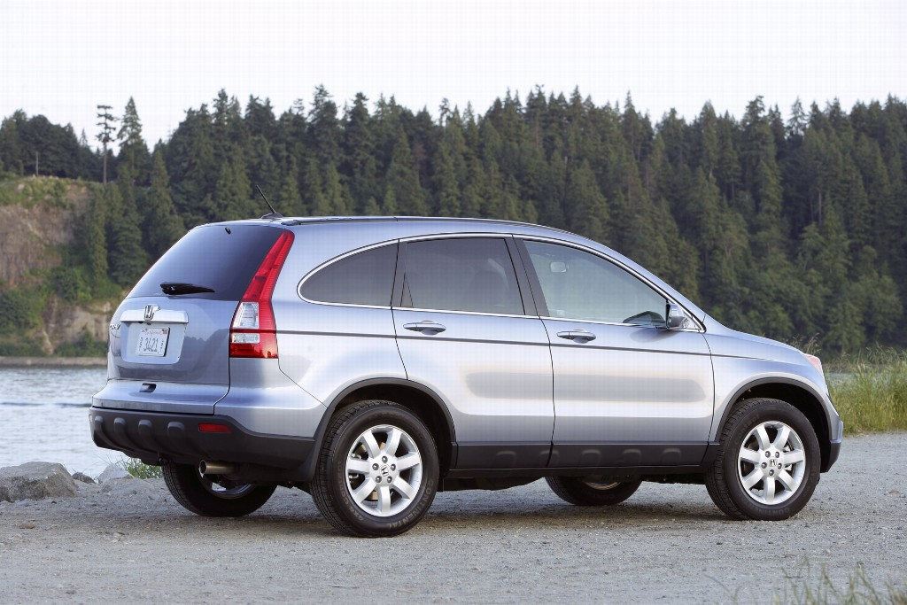 2007 honda cr v pictures history value research news for Is a honda crv a suv