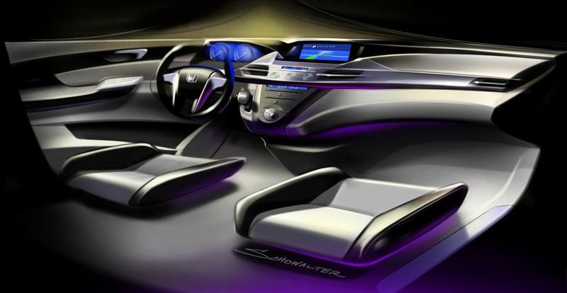 2010 Honda Odyssey Concept Image Photo 1 Of 24
