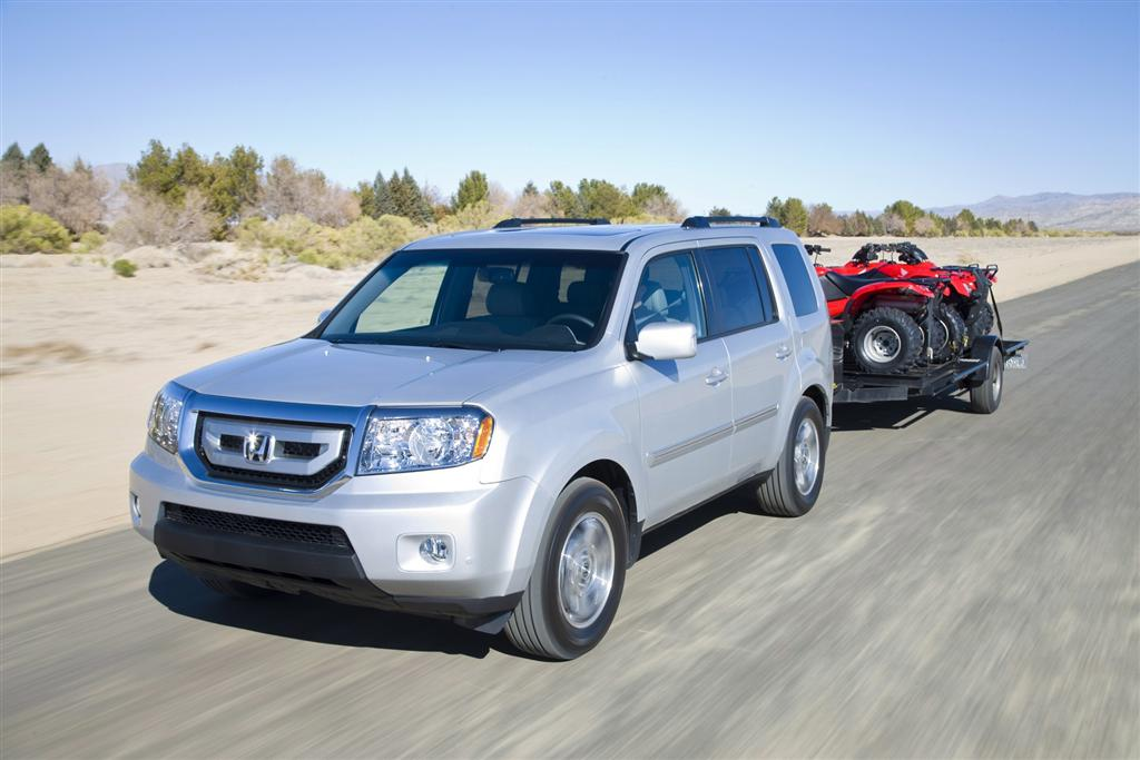 Auction Results and Sales Data for 2010 Honda Pilot