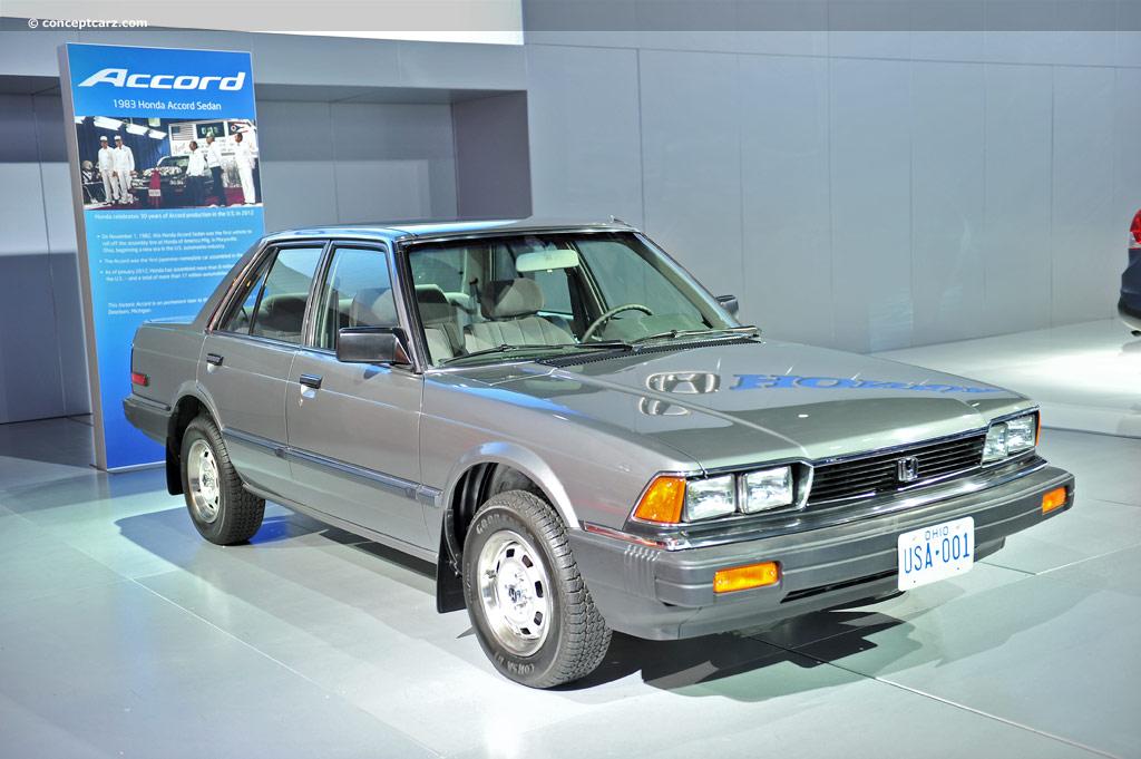 1983 Honda Accord Image