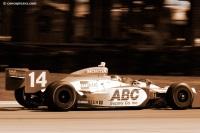 Image of the AJ Foyt Enterprises Indycar