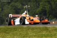 Image of the Conquest Racing Indycar