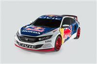 2016 Honda Civic Rallycross image.