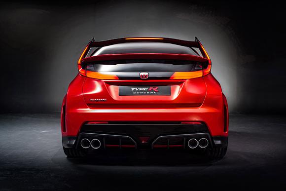 2014 Honda Civic Type R Concept Image Photo 3 Of 13