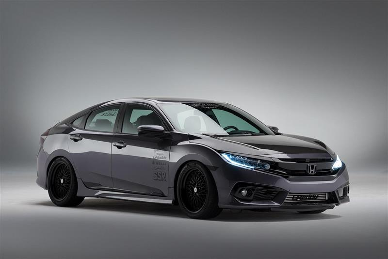 2016 Honda Meguiars Civic pictures and wallpaper