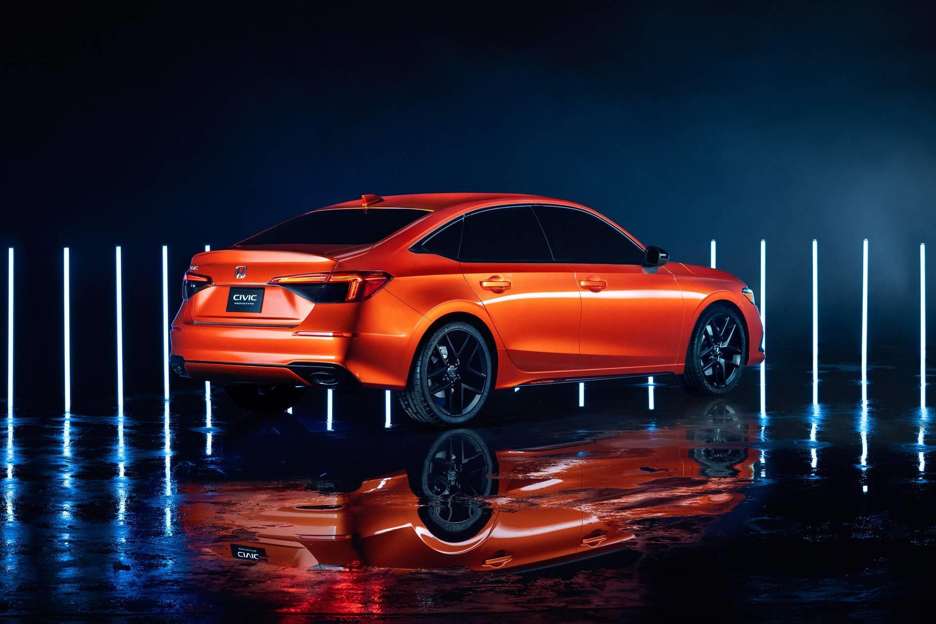2020 Honda Civic Prototype