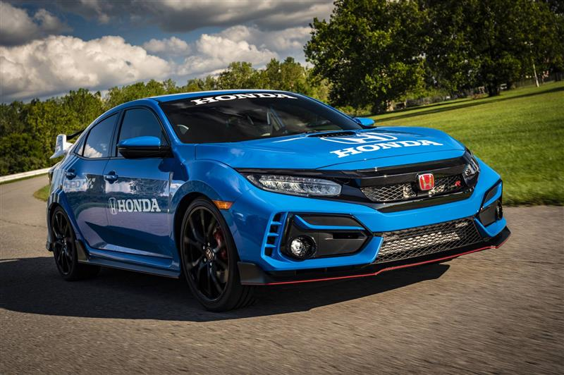 2020 Honda Civic Type R Pace Car News And Information Com