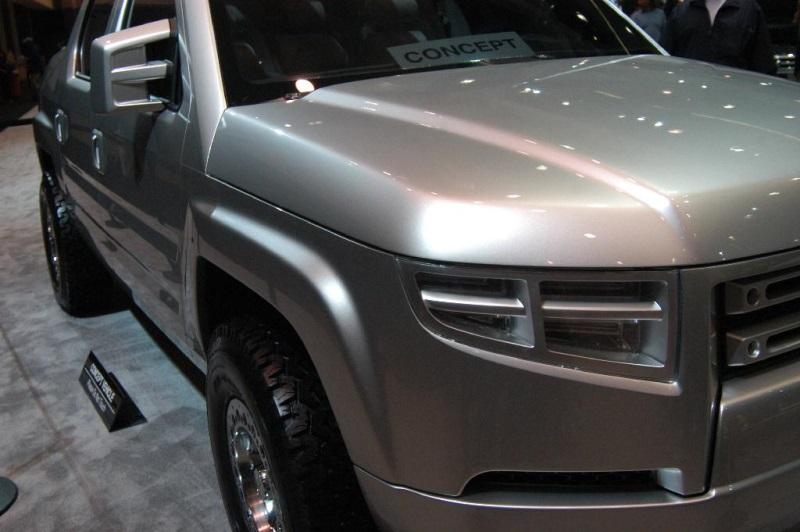 2005 Honda Ridgeline   conceptcarz.com