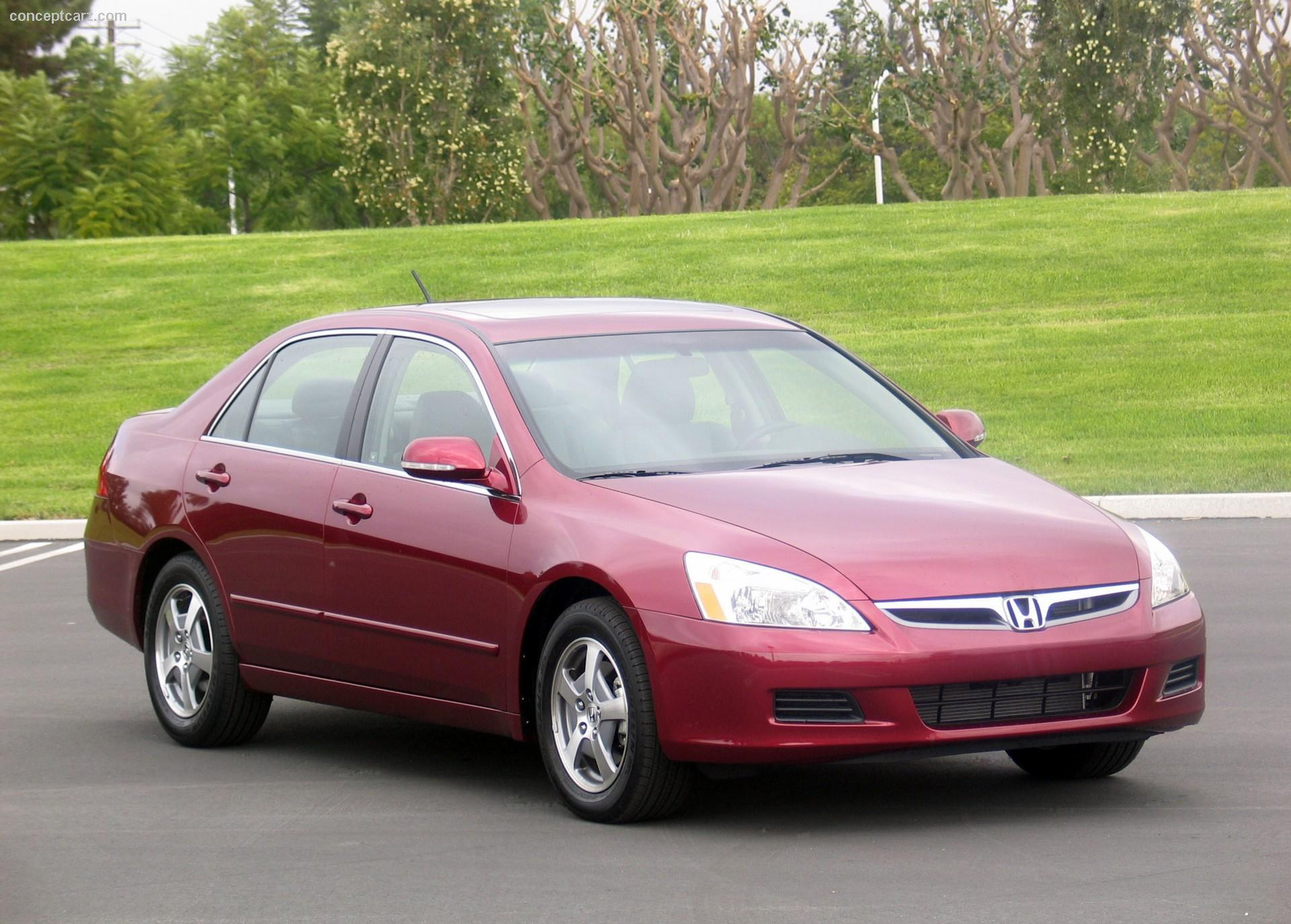 2007 Honda Accord Technical Specifications and data. Engine ...