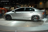 2007 Honda Civic Si Sedan Concept image.