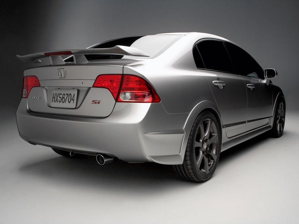 2007 Honda Civic Si Sedan Concept thumbnail image