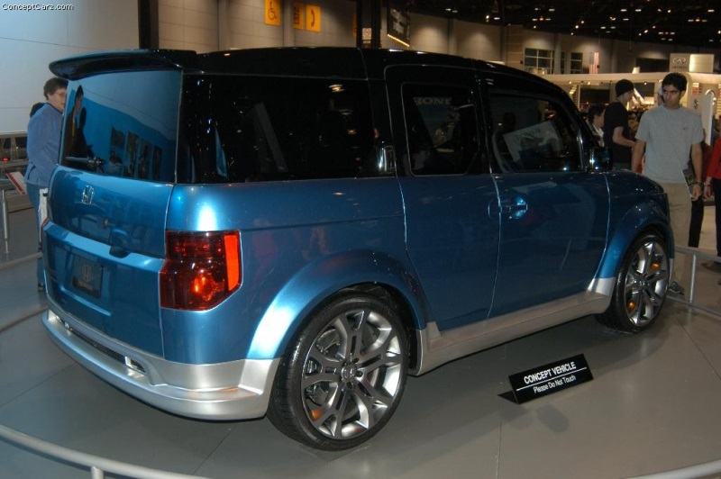 Honda Element Concept >> 2004 Honda Element Concept History Pictures Value Auction Sales