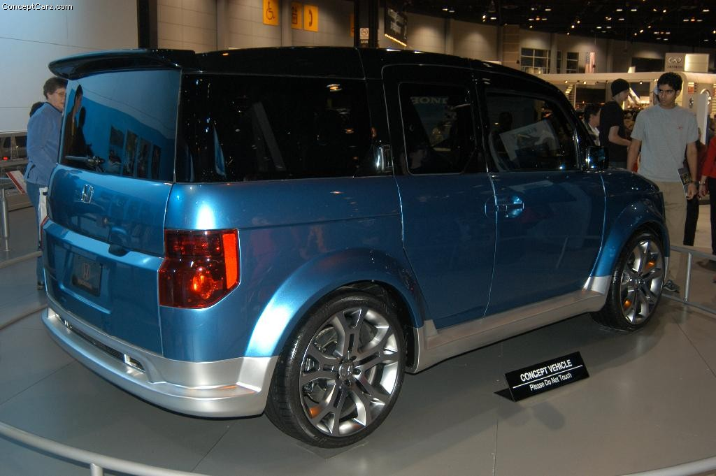 Honda Element Concept >> 2004 Honda Element Concept History Pictures Sales Value Research